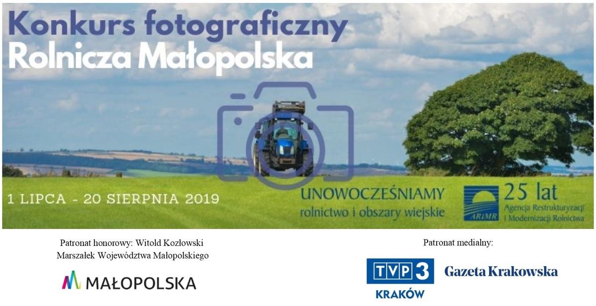 """Konkurs """"Rolnicza Małopolska. 25 zdjęć na25-lecie ARiMR"""""""