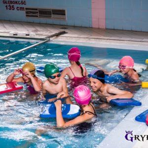 2019-07: Zajęcia wakacyjne na basenie w Stróżach