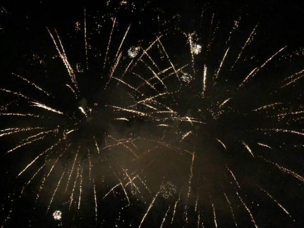 2019-09-08: Jesień Grybowska 2019 - Pokaz ogni sztucznych
