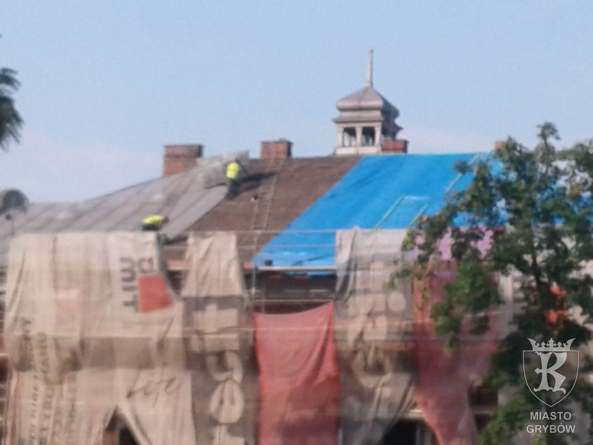 Remont budynku MDK