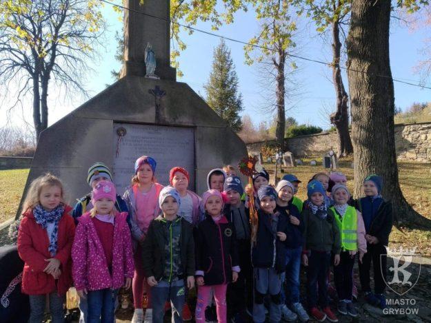 2019-10-25: Wizyta na Cmentarzu Miejskim w Grybowie