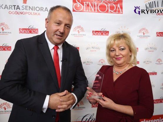 """2019-09-19: Miasto Grybów ztytułem """"Miasto Przyjazne Seniorom"""""""