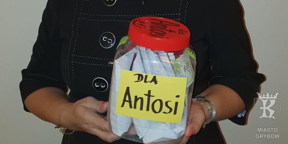"""2019-10-30: Akcja charytatywna """"Dla Antosi"""""""