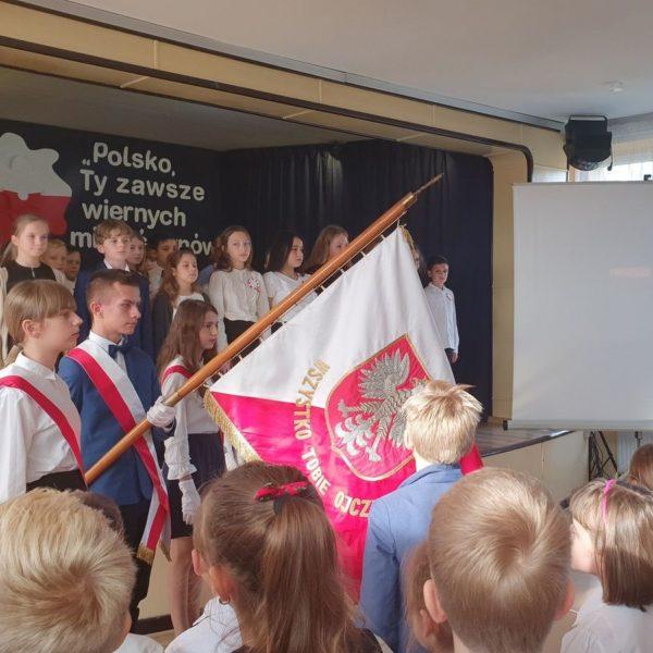 2019-11-08: Święto Narodowe Niepodległości - Uroczystości w Jedynce