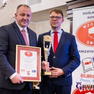 2019-11-25: Miasto Grybów z tytułem Wzorowa Gmina - Lider Rozwoju