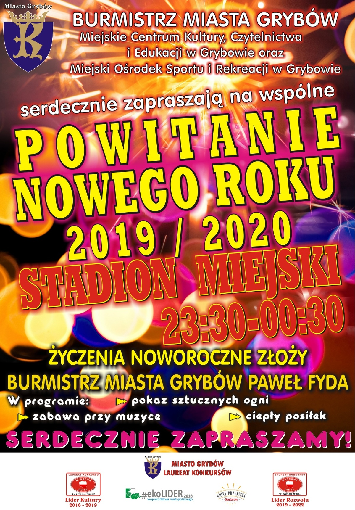 Powitanie Nowego Roku 2020