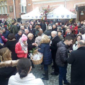 2019-12-22: V Wigilia na Rynku w Grybowie