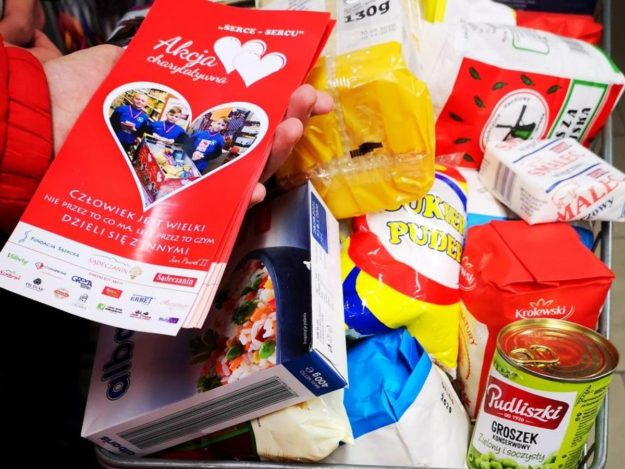 "2019-12-16: Akcja charytatywna ""Serce-Sercu"""