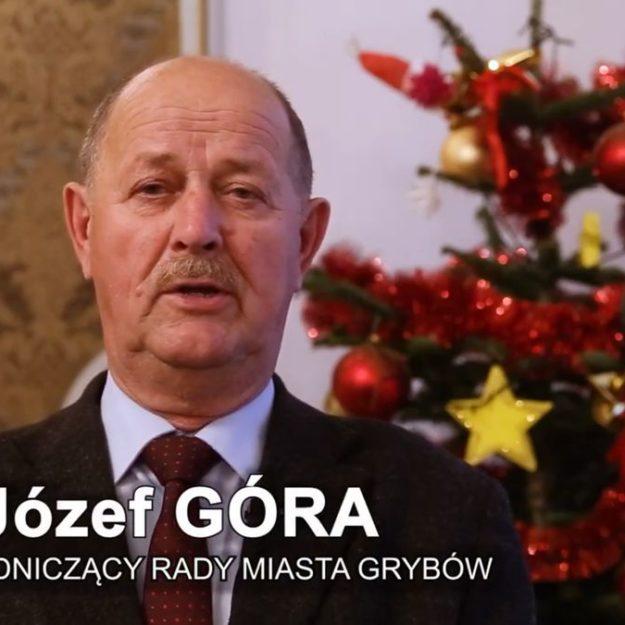 Życzenia świąteczne dla mieszkańców Grybowa