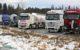Blokada granicy słowacko-polskiej (fot. Marek Podmokły / Agencja Gazeta)