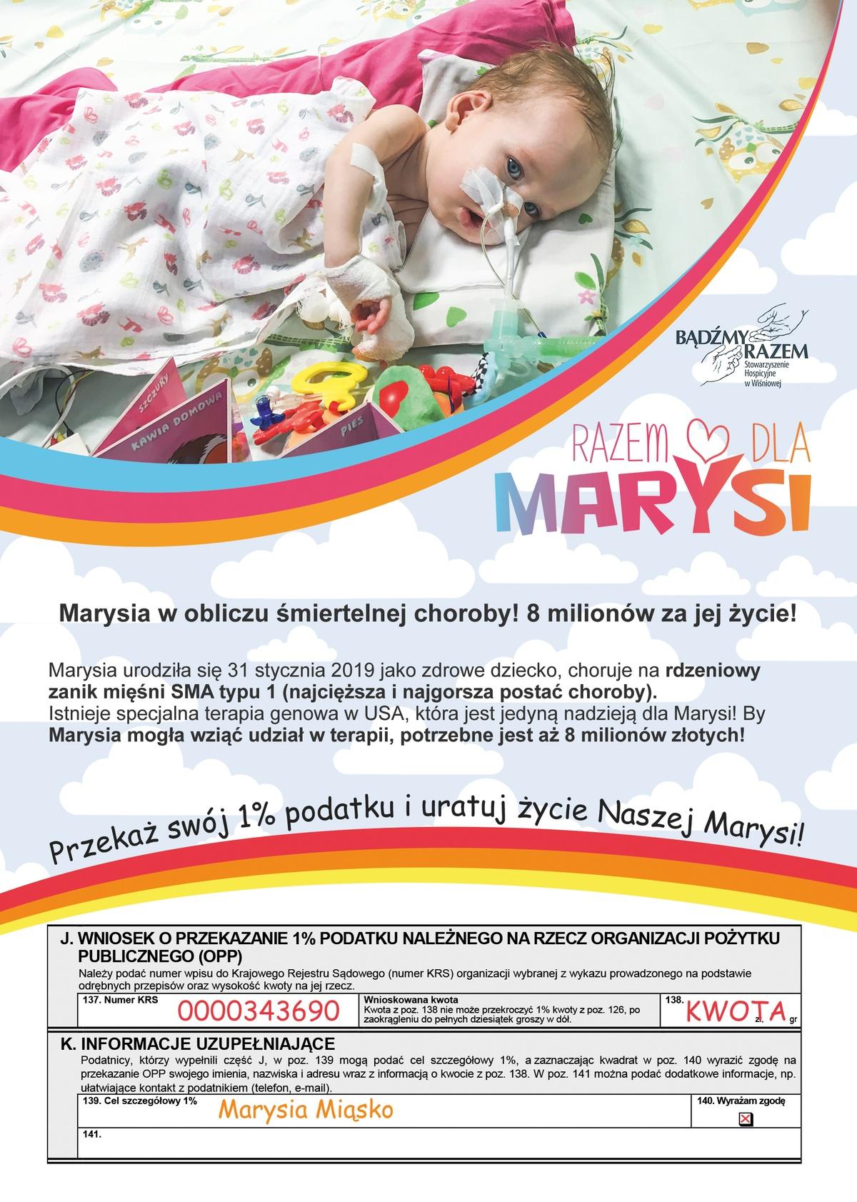 """Akcja """"Razem dla Marysi"""""""