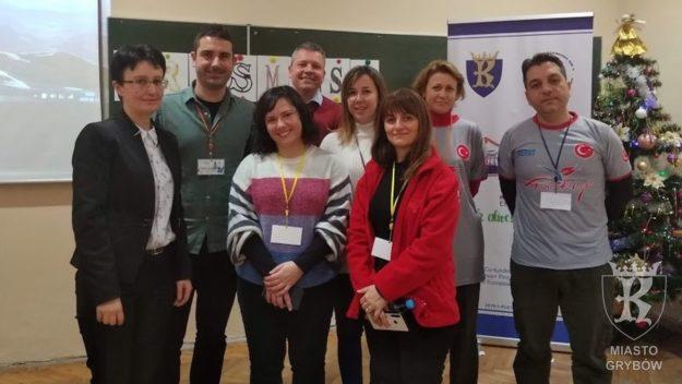 2020-01-14: Spotkanie nauczycieli w ramach projektu Erasmus+