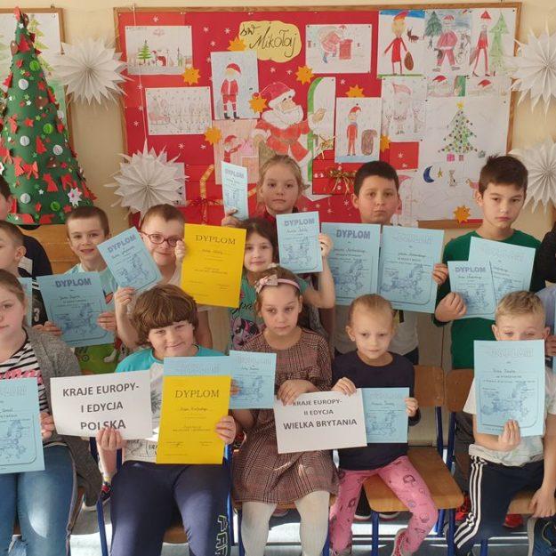 2019-12-20: Projekty i konkursy organizowane przez świetlicę szkolną