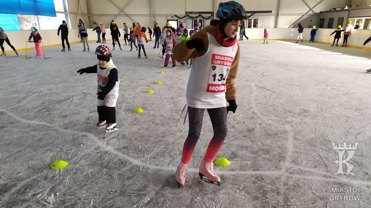 2020-01-28: Ferie 2020 - nauka jazdy na łyżwach