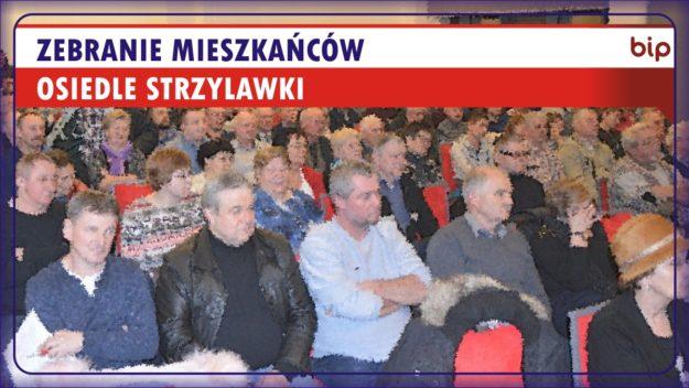 Zebranie Mieszkańców Osiedla Strzylawki