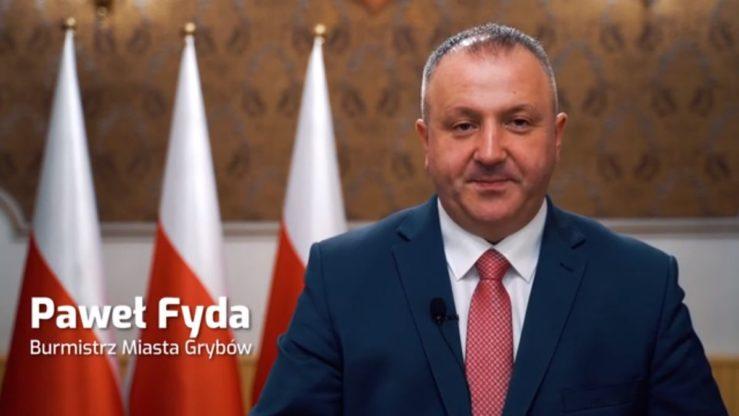 Komunikat Burmistrz Miasta Grybowa wzwiązku zzagrożeniem epidemicznym