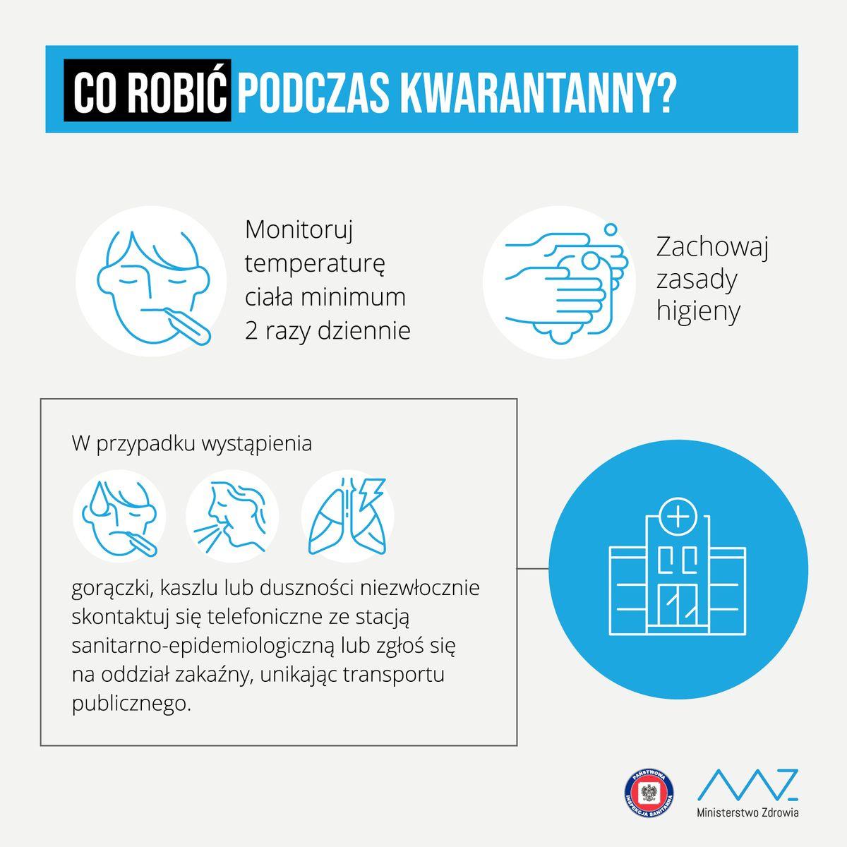 Koronawirus - Co robić podczas kwarantanny?
