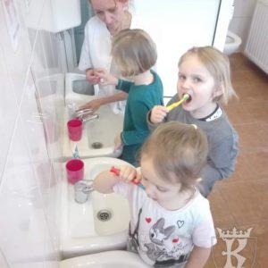 2020-02: My o swoje ząbki dbamy - wizyta pielęgniarki w przedszkolu