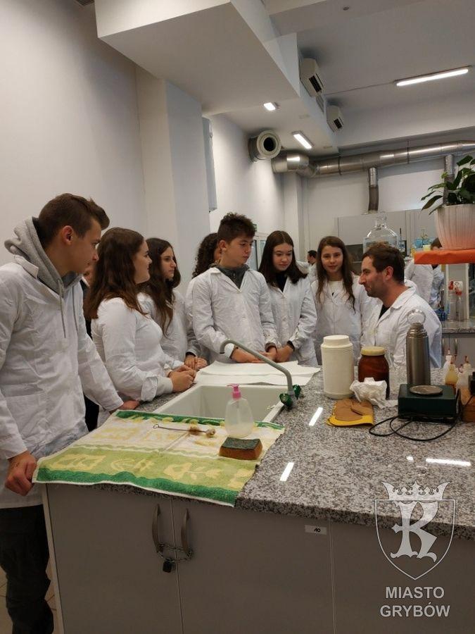 Naukowa wycieczka doKrakowa