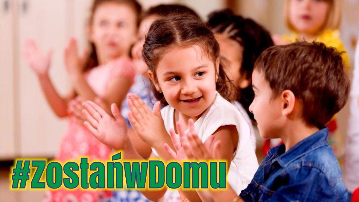 #ZostańwDomu: Rytmika w domu