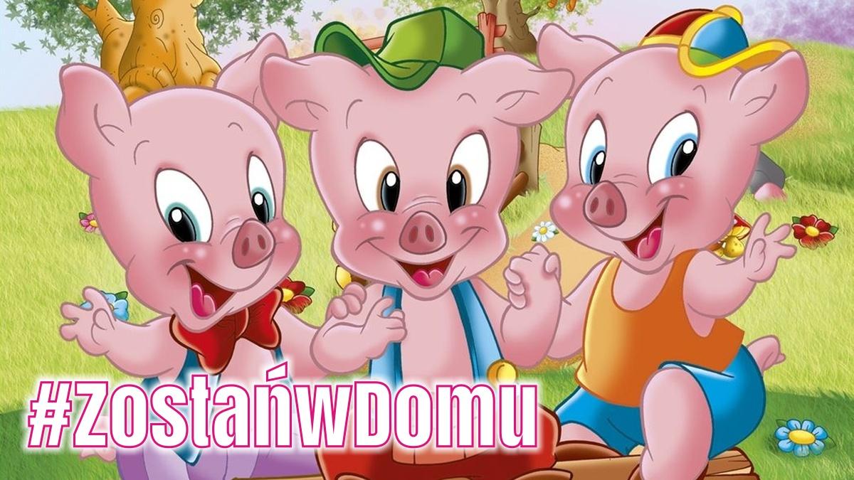 #ZostańwDomu: Trzy małe świnki