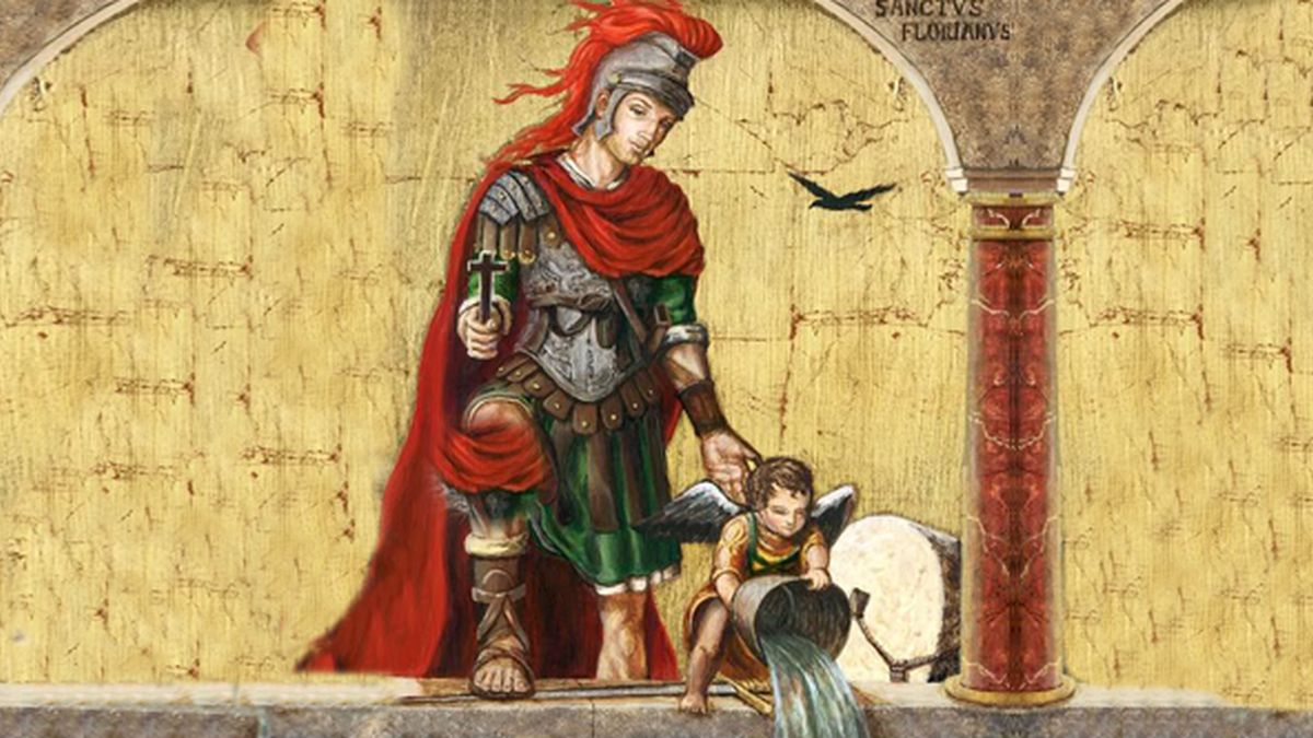 Święty Florian - patron strażaków