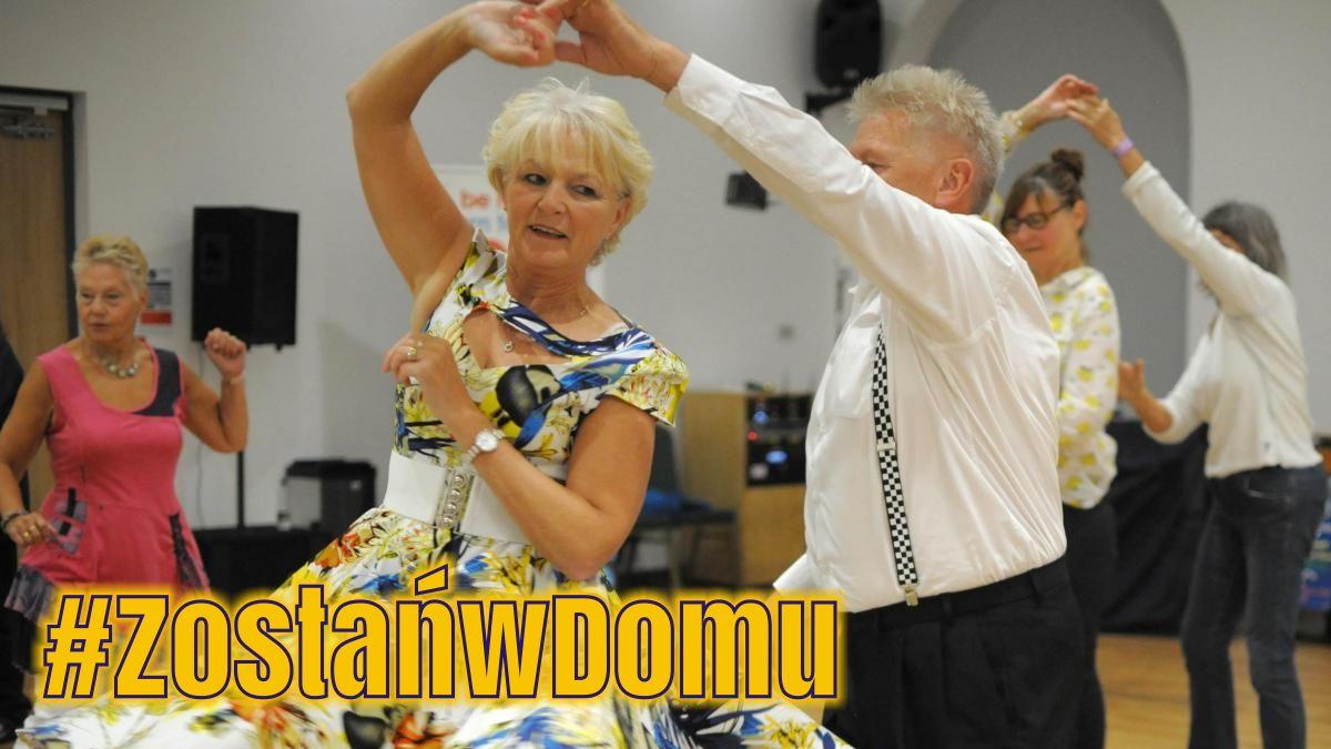 #ZostańwDomu: Taniec dla każdego i na każdą imprezę