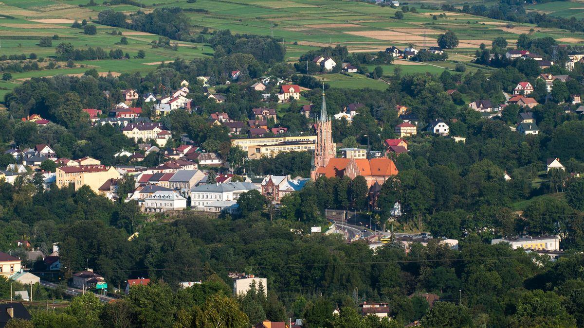 Panorama Miasta Grybów