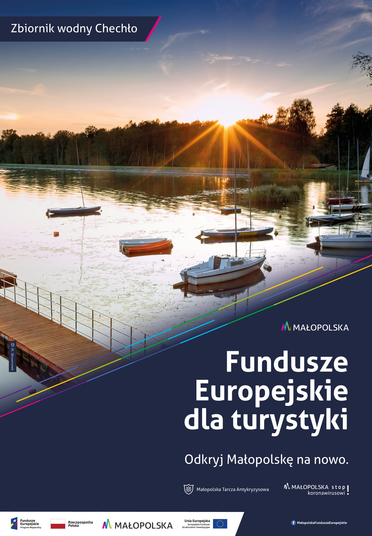 Plakat promujący Zalew Chechło