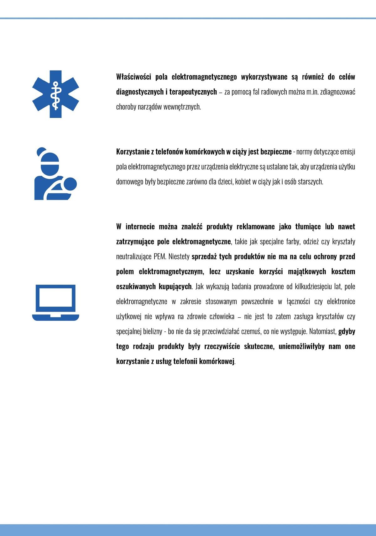 Ulotka edukacyjna: Pole elektromagnetyczne 7 z8