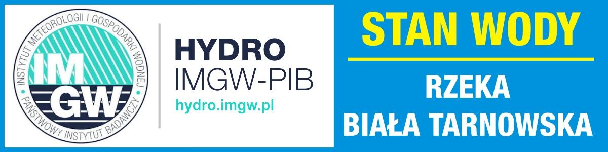 Baner odsyłający strony HYDRO IMGW-PIB